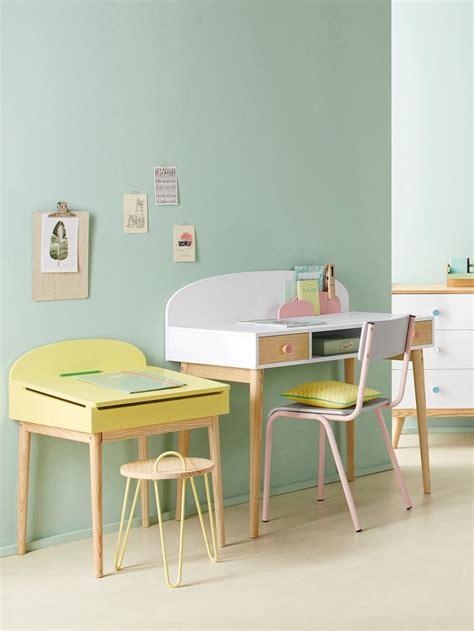 vertbaudet bureau bureau junior confetti blanc bois pas cher bureau enfant