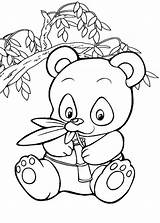 Panda Coloring Pages sketch template