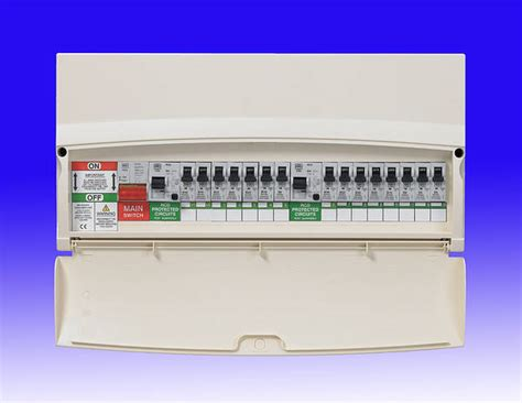 Pic Request Sentry Consumer Unit With Rcbo Diynot