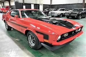 James Bond car: 1972 Mustang Mach 1 2nd generation