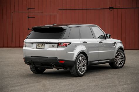 2018 Land Rover Range Rover Sport Supercharged Rear Three