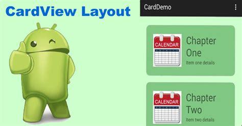 cardview   android studio