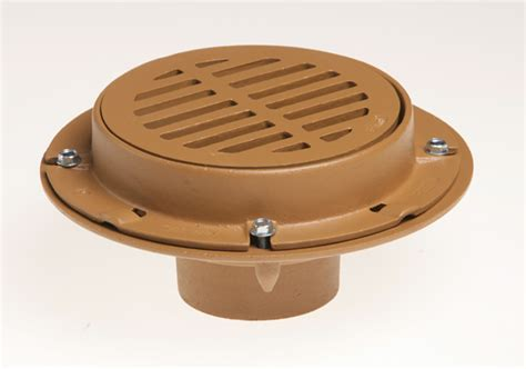 medium duty floor drains with 8 1 2 quot round tops jay r
