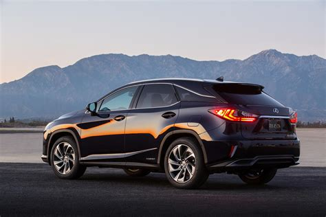Allnew, 2016 Lexus Rx Crossover Arrives With Bold New