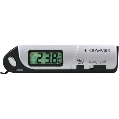protection pour siege auto thermomètre intérieur extérieur voiture feu vert