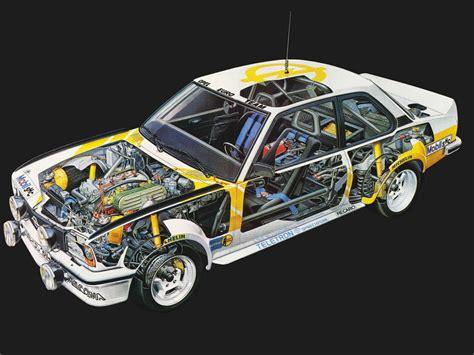 1979 Opel Ascona 400 Rally Version-b Race Racing Interior
