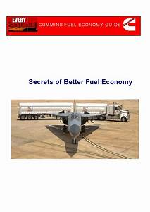 Cummins - Fuel Economy Guide Manual Pdf Download