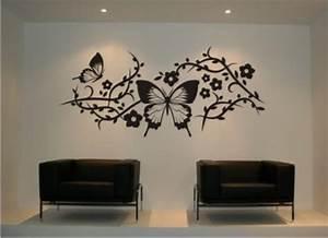 Wandtattoo Kinderzimmer Schmetterlinge : kinderzimmer wandgestaltung schmetterling ~ Sanjose-hotels-ca.com Haus und Dekorationen