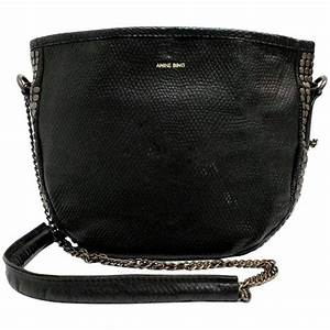 Anine bing black leather studded crossbody bag for sale at for Bing bags for sale