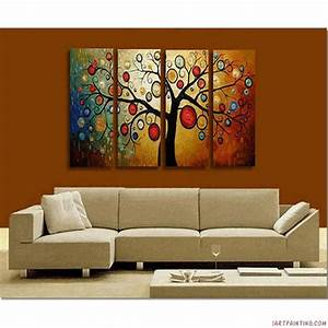 art red painting canvas contemporary wall 5th village With canvas wall decor