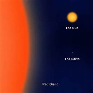 red giant sun earth comparison | Flickr - Photo Sharing!