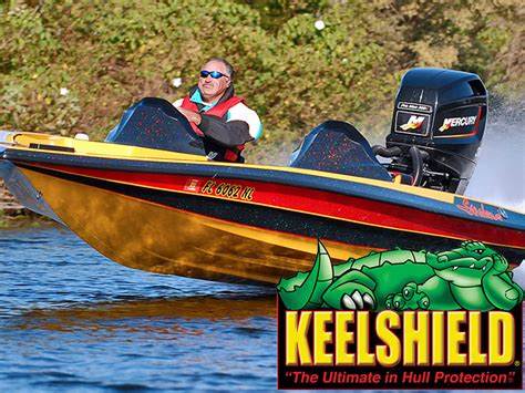Bass Boat Keel Shield by Keelshield Keel Guard And Protection Of Your Boat By Gator