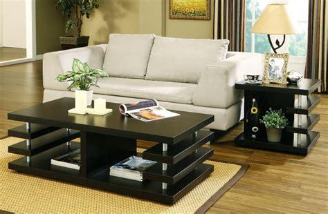 living room side table decor living room multi shelves black living room table set