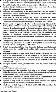 Berry Electronic Tech Bm1000 Pulse Oximeter User Manual