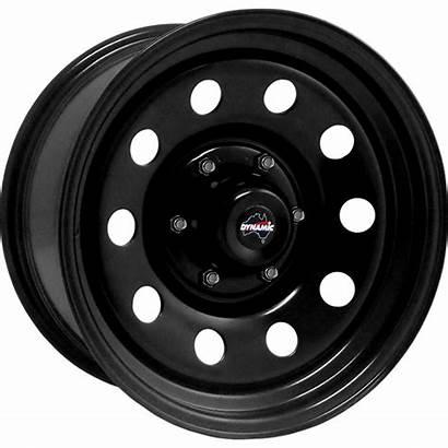 Round 17x8 Rims Steel Dynamic Wheel Hole