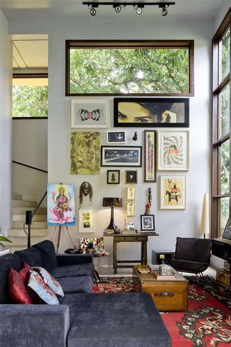 modern architecture  eclectic decor inspired