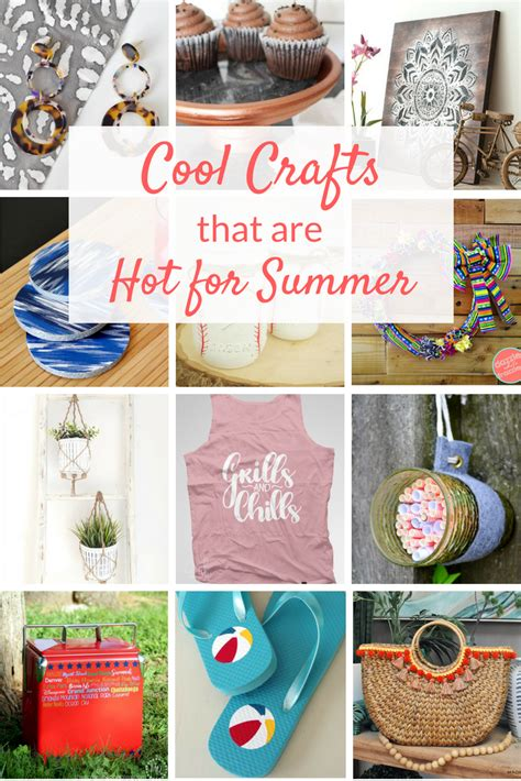 Cool Summer Crafts Ideas  Two Purple Couches