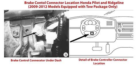 honda pilot electric brake controller