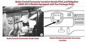 2011 Honda Pilot Electric Brake Controller