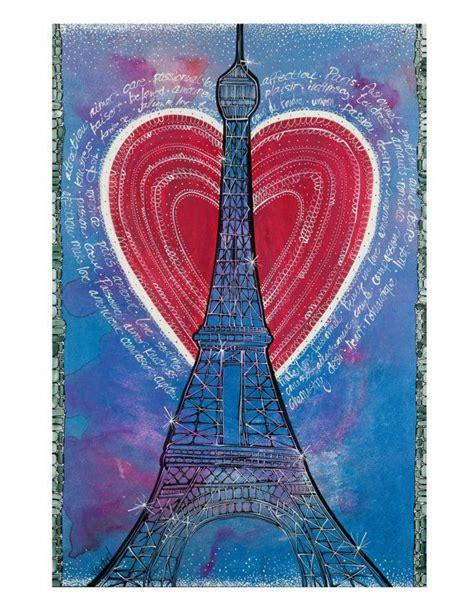 items similar  paris eiffel tower art print french