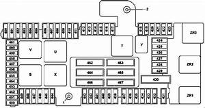 Mercede-benz C-class W205  2014 - 2018 - Fuse Box Diagram