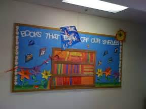 Spring Library Bulletin Board