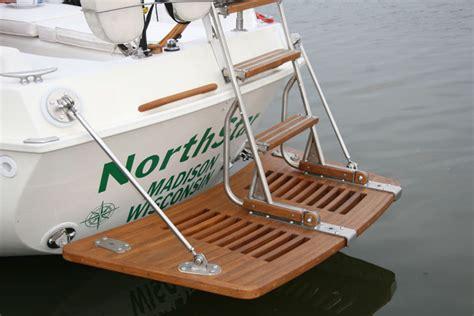 Sailboat Swim Platform by Swim Platforms
