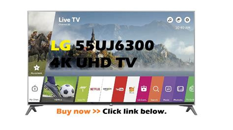 LG 55UJ6300 UJ6300 Series 'Review YouTube