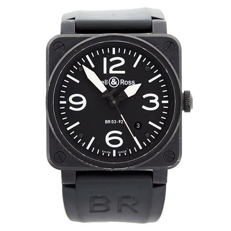 Bell & Ross Aviation Br0392 Black Carbon Mens Watch