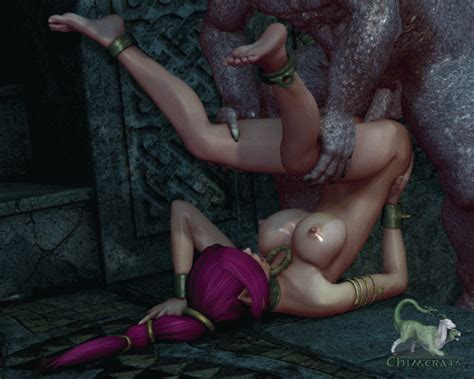 Sci-fi fantasies of sex slave - An epic goblin's scenes of the month - World of Jizzart