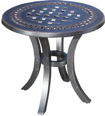 garden side table metal our metal outdoor side table styles cabana coast