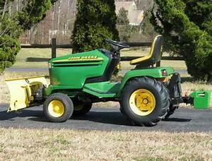 John Deere 325  335  345 Lawn  U0026 Garden Tractors Service
