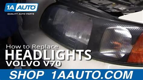 install replace change headlight  bulb