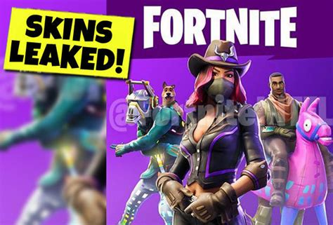 Fortnite Season 6 Leak New Skins And More Revealed By