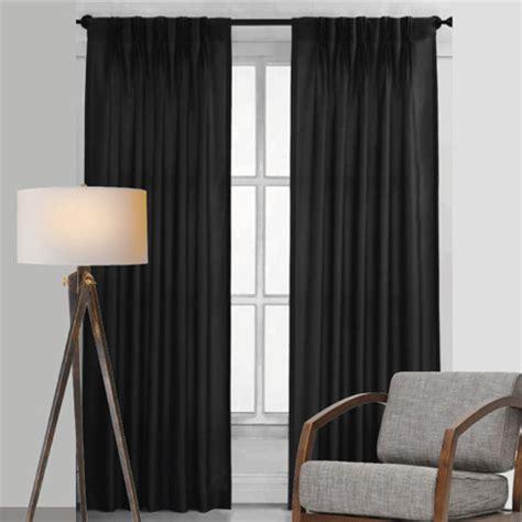 bond room darkening soft drape blockout pinch pleat