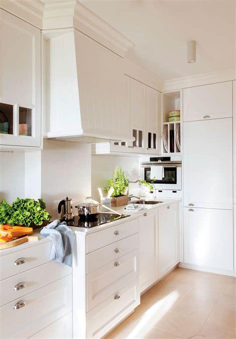 fotos de cocinas pequenas bien aprovechadas