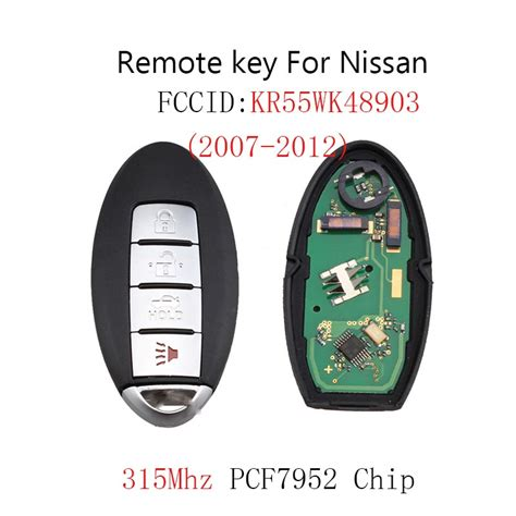 Buttons Remote Key Keyless Fob For Nissan Altima Maxima