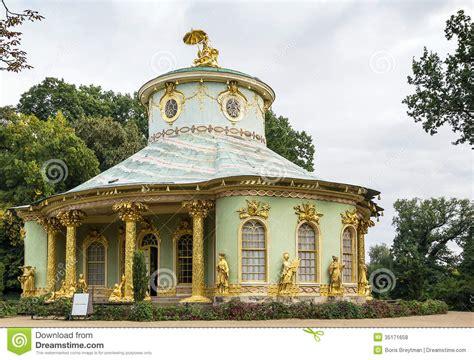 chinese house potsdam germany stock photo image