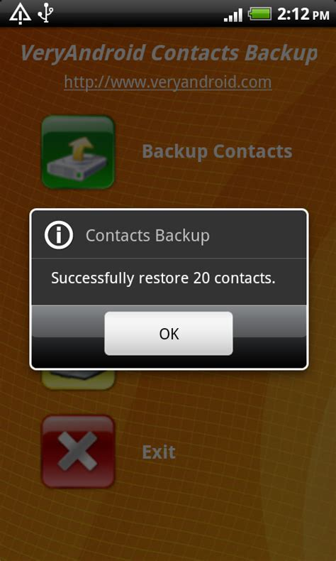 restore contacts android how to restore contacts to android from sd card