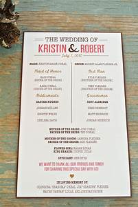 Wedding program in memory of wording party invitations ideas for Wedding program wording ideas