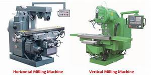 Difference Between Horizontal and Vertical Milling Machine ...