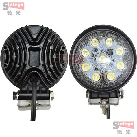 led tractor lights 2pcs 4inch led work light 27w led tractor work