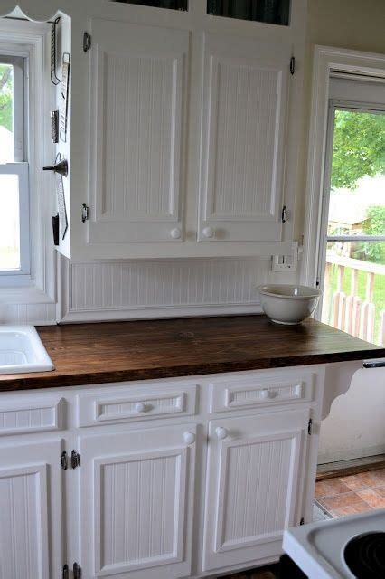 kitchen cabinet door edge trim add trim to flat panel kitchen cabinets to remake
