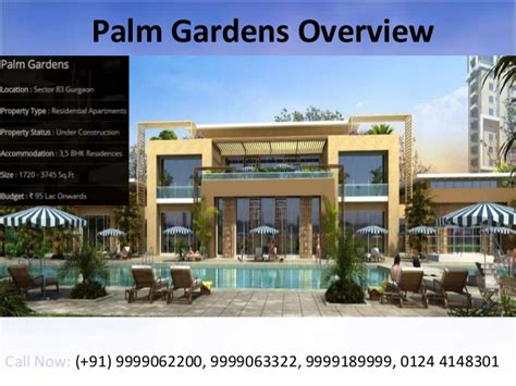 1 bedroom apartments palm gardens palm gardens sector 83 gurgaon apartments