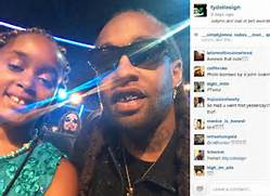 Ty Dolla  ign posed wi...
