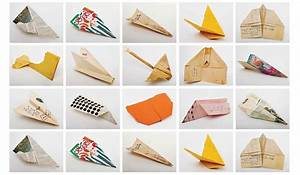 Faire Des Origami : comment fabriquer un avion en papier ~ Nature-et-papiers.com Idées de Décoration