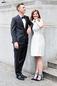 White Leather Wedding Dress