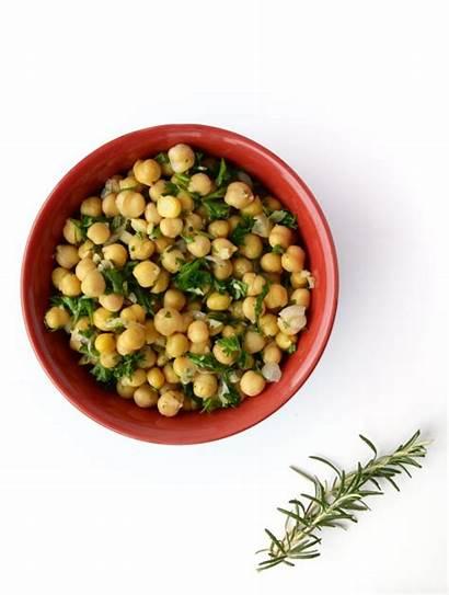 Chickpea Rosemary Garlic Salad Lemony Lemon Runningonrealfood