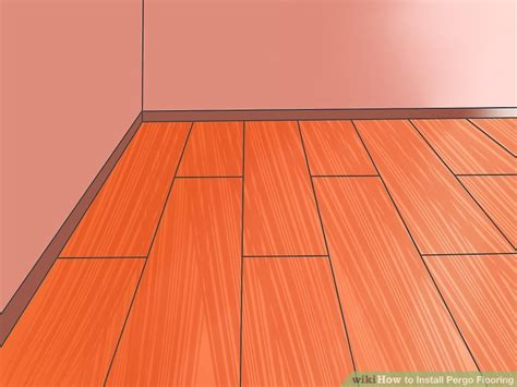 installing pergo laminate flooring how to install pergo flooring 11 steps with pictures wikihow