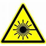 Laser Symbol Svg Lasers Wikimedia Radiation Sign